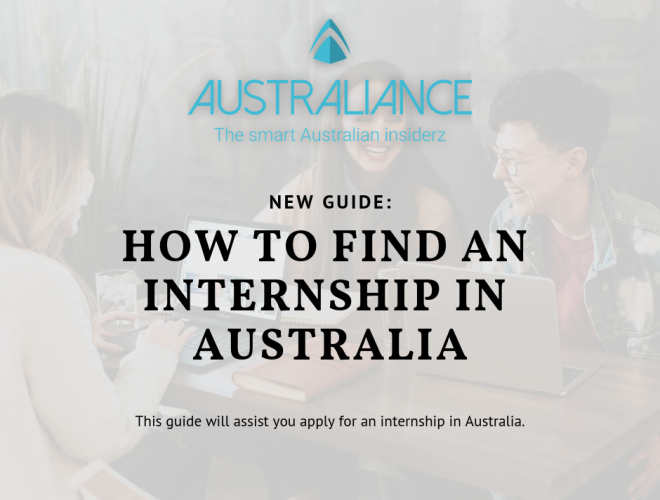 How to find an internship in Australia