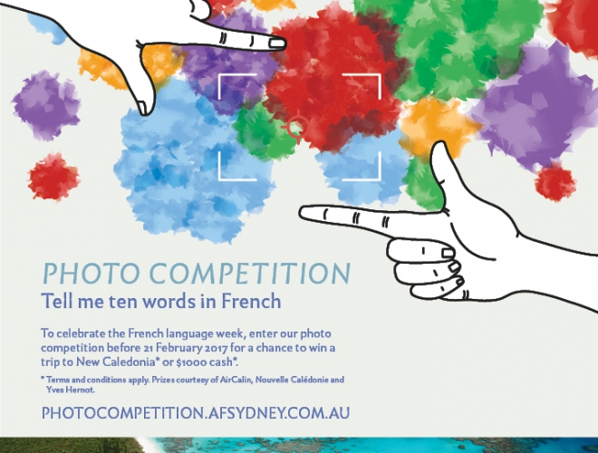 Dis-Moi Dix Mots – photography competition for all ages – Alliance Francaise