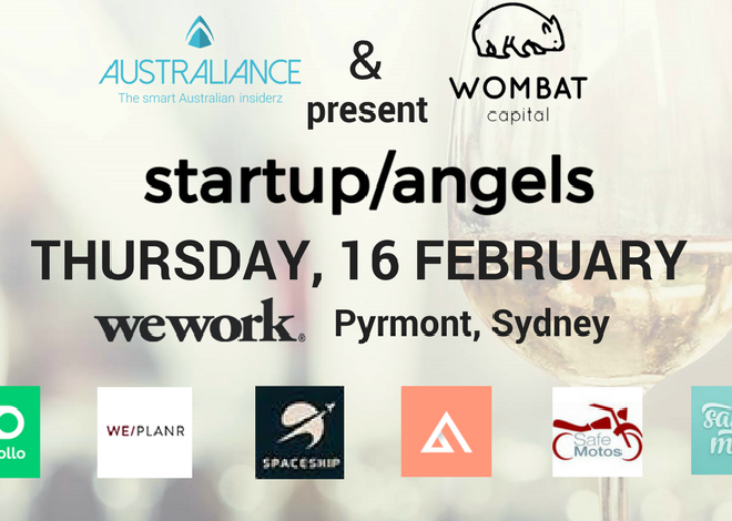 Startup&Angels #4 – Meet promising Startuppers and Business Angels in Sydney