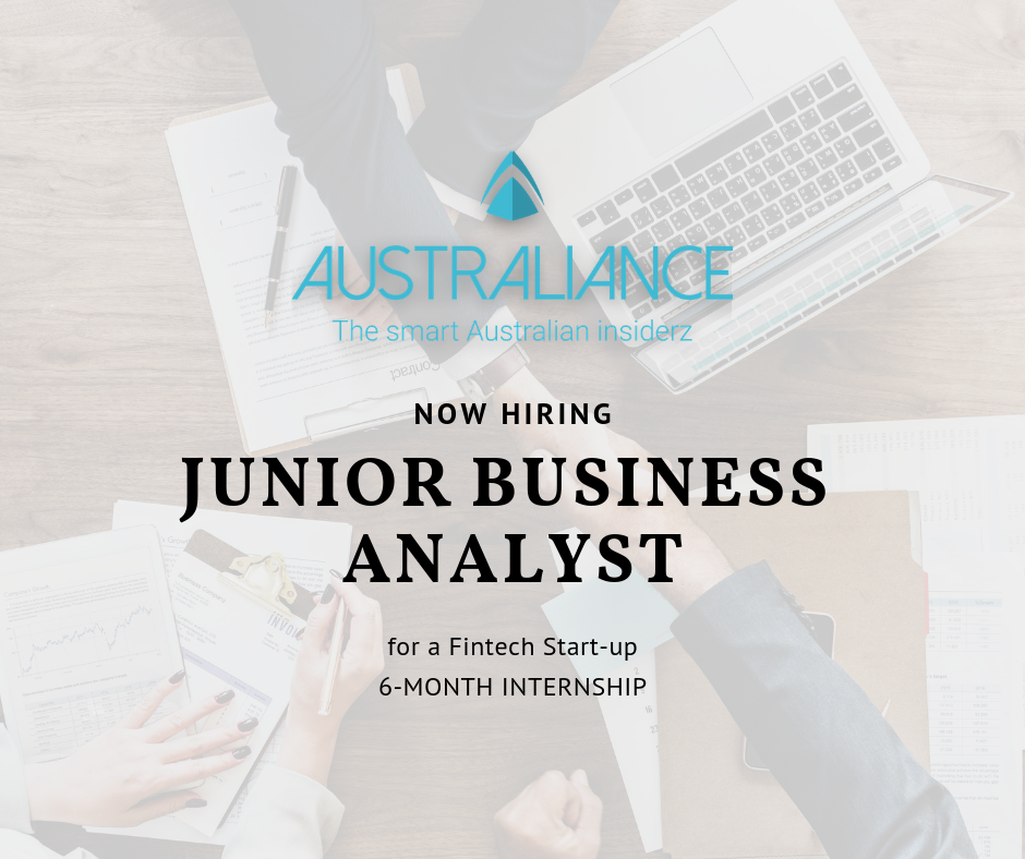 Internship in Sydney: Junior Business Analyst in Fintech ...
