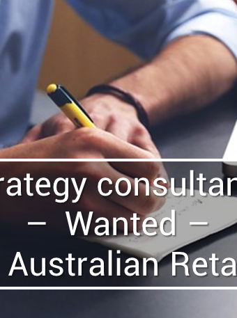 Strategy Manager role, leading Australian Retailer, Sydney
