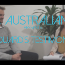 Choose the good Visa to work in Australia – Edouard's testimonial