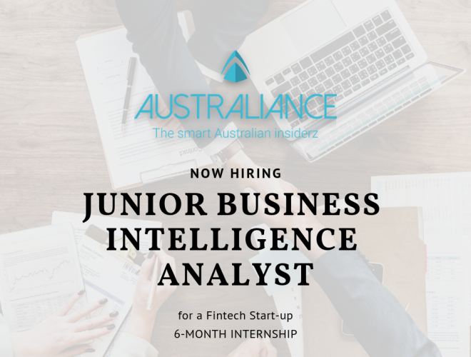 Internship in Sydney: Junior Business Intelligence Analyst