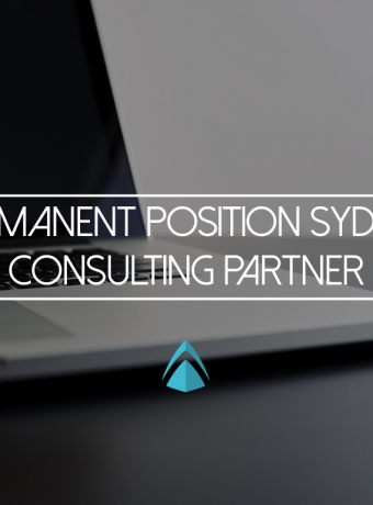 Permanent Position Sydney – Consulting Partner