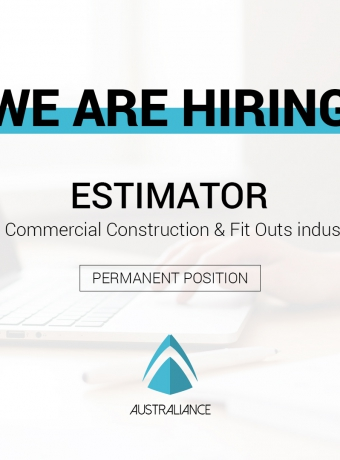 Estimator (based in Sydney) – Commercial Construction & Fit Outs industry