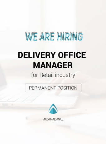 Job offer: Delivery Office Manager (based in Sydney)