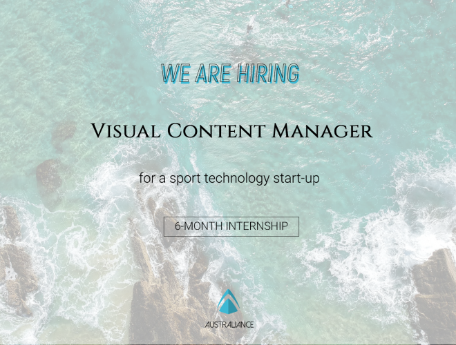 Internship offer: Visual Content Manager for a sport technology start-up