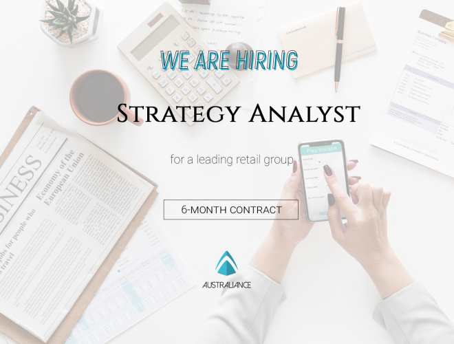 Contractor position offer: Strategy Analyst – based in Sydney