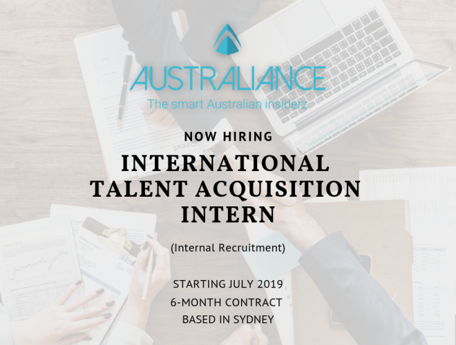 Internship Offer: International Talent Acquisition Intern