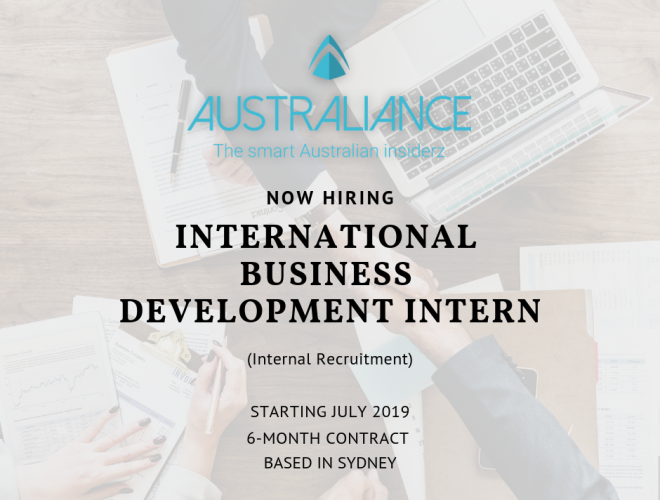 Internship Offer: International Business Development