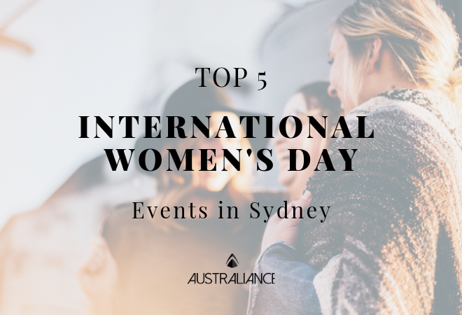 International Women's Day 2019: Events in Sydney