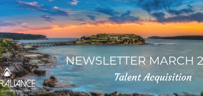 Talent Acquisition Newsletter of March 2019