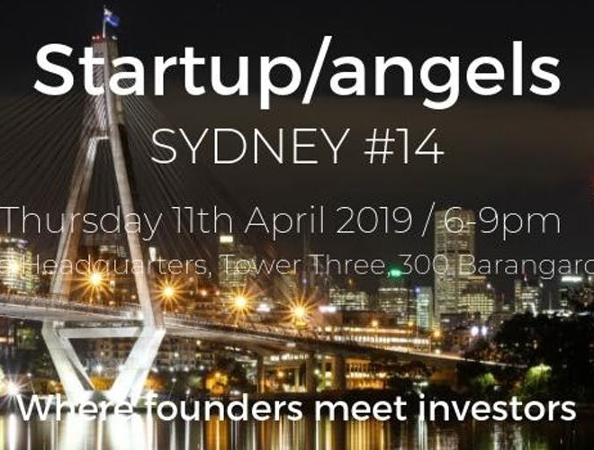 Startup&Angels #14 – Meet promising Startuppers and Business Angels in Sydney