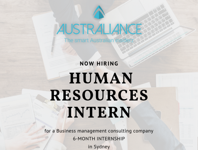 Internship Offer: Human Resources Intern