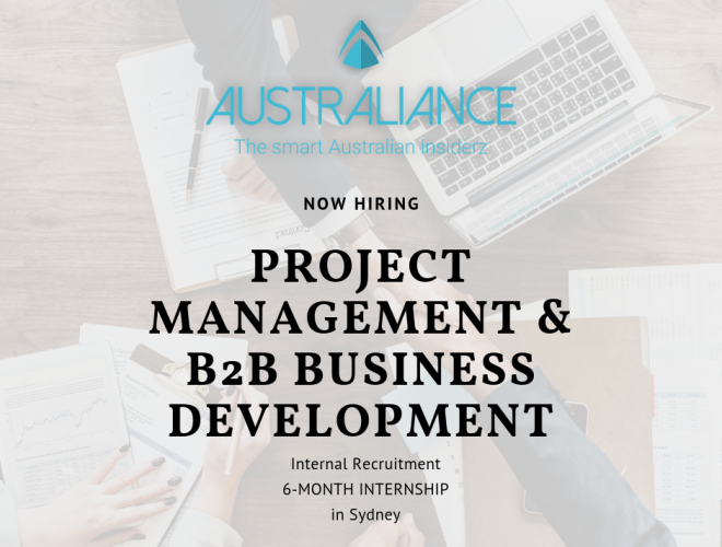 Internship Offer: Project Management & B2B Business Development
