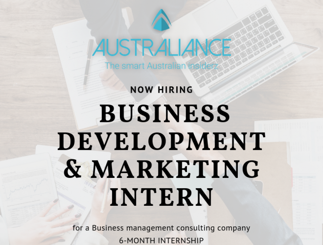 Internship Offer: Business Development & Marketing Intern