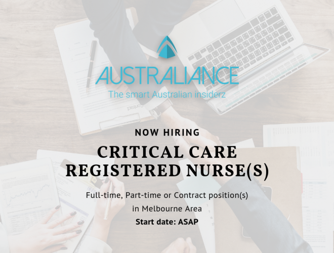 Job offer: Critical Care Registered Nurse(s)