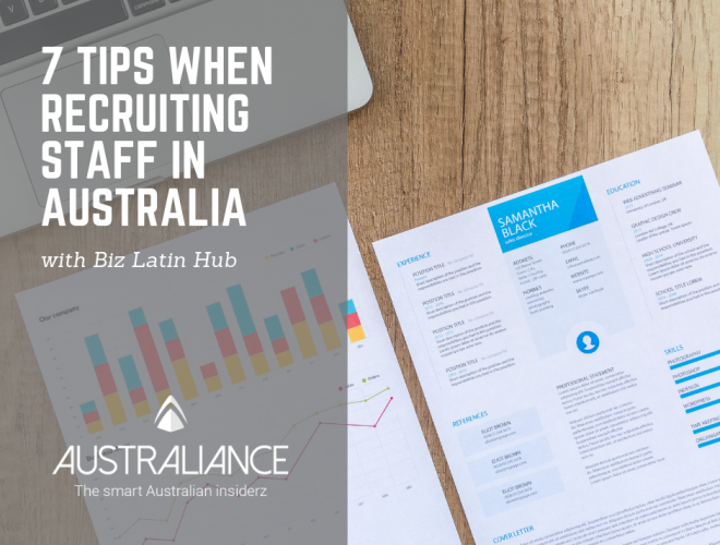7 tips when recruiting staff in Australia