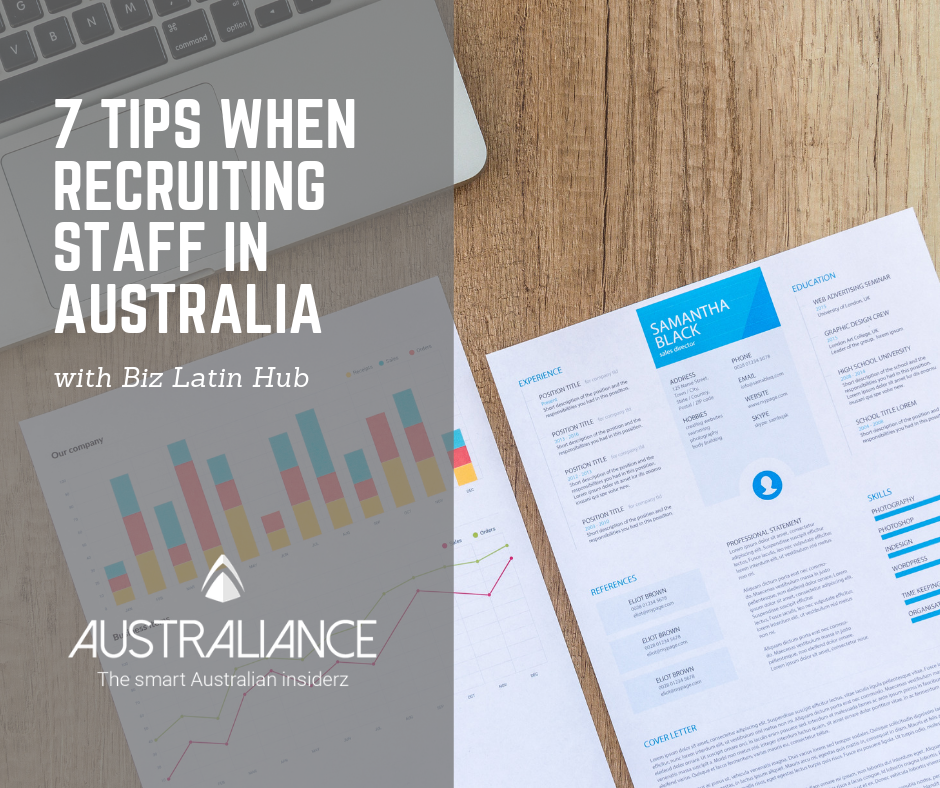 7 tips when recruiting staff in Australia – Australiance